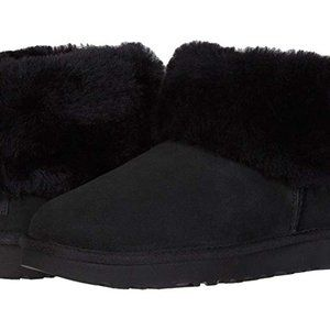 NEW! UGG Women's Classic Mini Fluff Ankle Boot